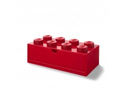 LEGO Desk Drawer 8 (Red)
