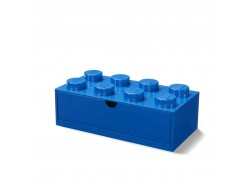 LEGO Desk Drawer 8 (Blue)