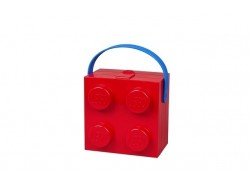 LEGO® Lunch Box with Handle 4 (Red)