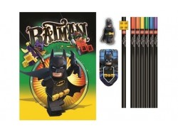 LEGO Batman Movie - Stationery Set with Journal