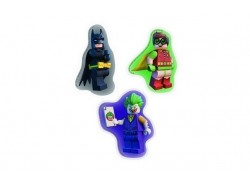 LEGO Batman Movie - Erasers (3 Pack)