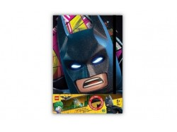 LEGO Batman Movie - Batman Journal with Illuminating Face