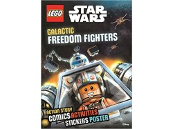 LEGO Star Wars: Galactic Freedom Fighters (Sticker Poster Book)