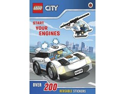 LEGO City: Start Your Engines Sticker Book