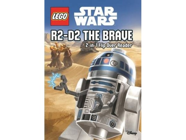 LEGO Star Wars: 2-in-1 Flip Over Reader: R2-D2 the Brave/Han Solo's Adventures