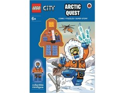 LEGO City Arctic Quest Activity Book With Minifigure