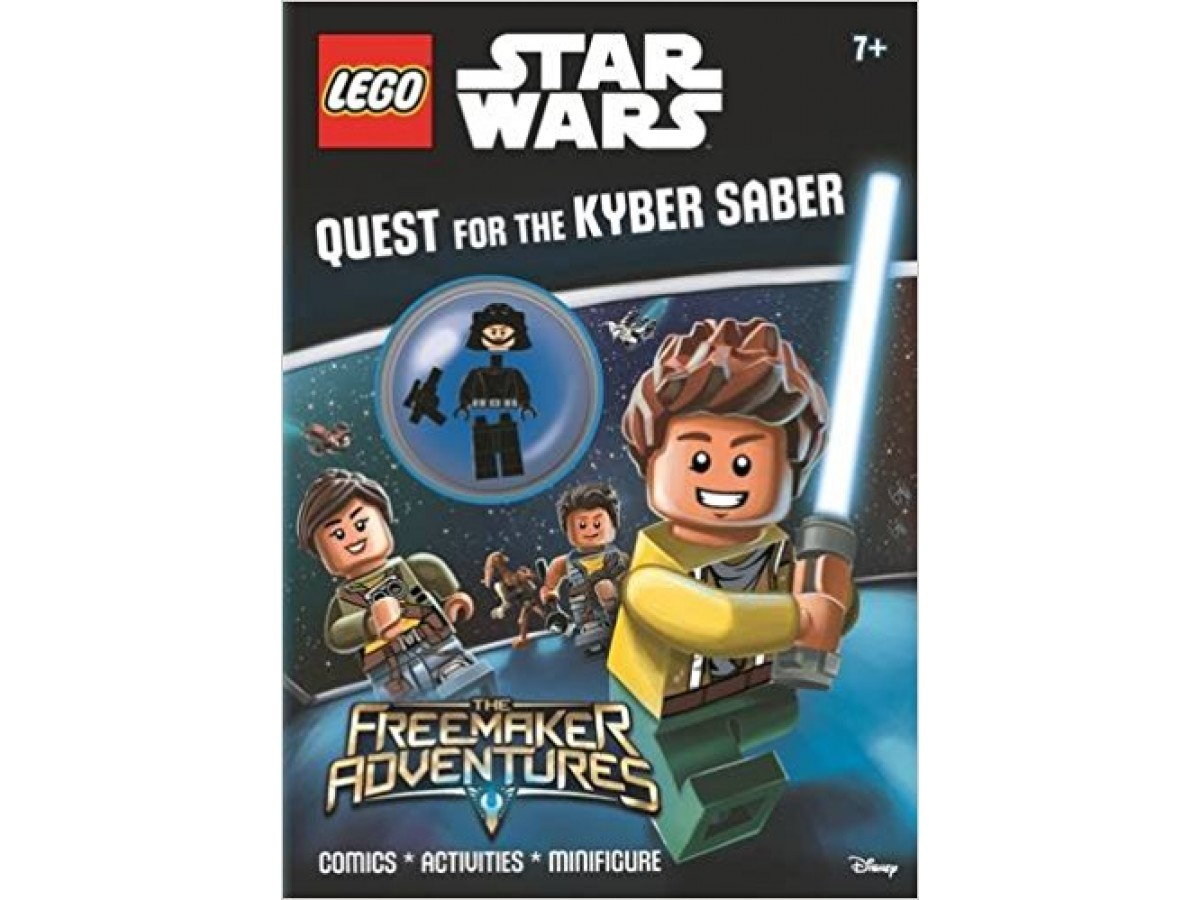 lego star wars quest for the kyber saber activity book