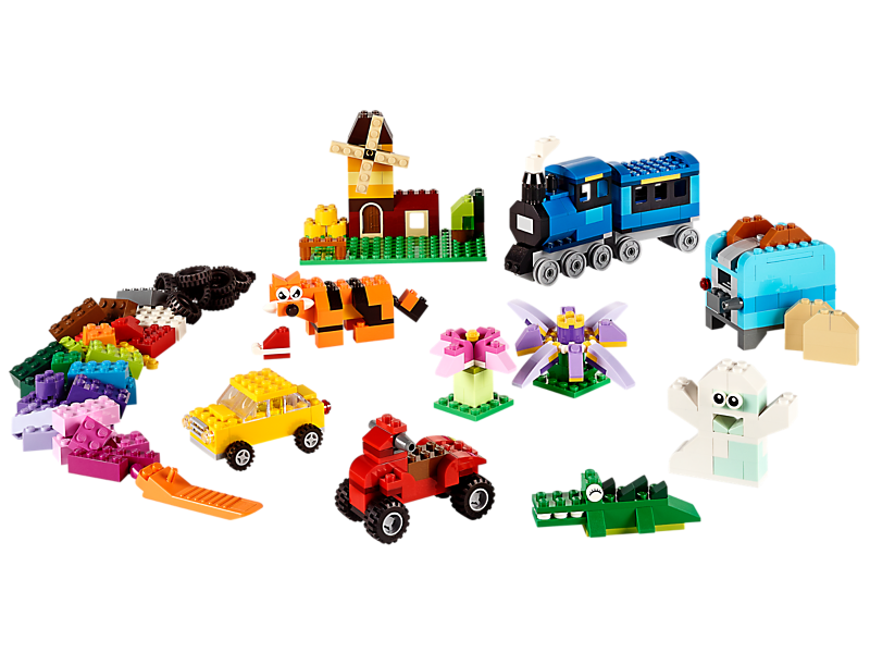 LEGO Medium Creative Brick Box - Kiddiwinks Online LEGO Shop