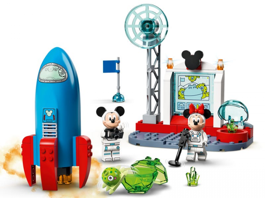 Mickey Mouse & Minnie Mouse's Space Rocket