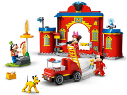Mickey & Friends Fire Truck & Station