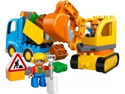 Truck & Tracked Excavator