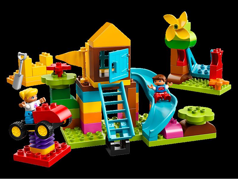10864 LEGO Duplo Creative Play Large Playground Brick Box 71 Pieces Age 2 New!