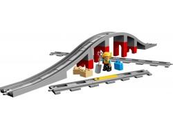 Train Bridge and Tracks