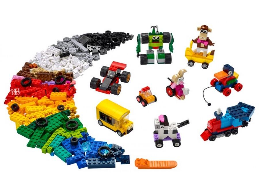 Bricks and Wheels