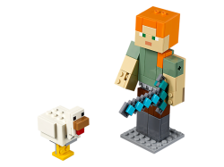 Minecraft™ Alex BigFig with Chicken