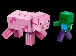 BigFig Pig with Baby Zombie