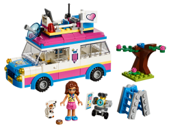Olivia's Mission Vehicle