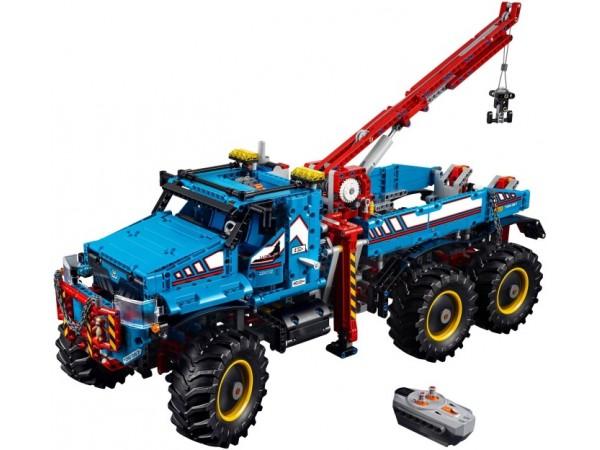 6x6 All Terrain Tow Truck