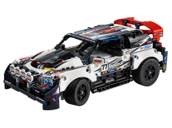 App-Controlled Top Gear Rally Car
