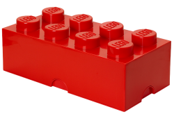 LEGO® 8-stud Red Storage Brick