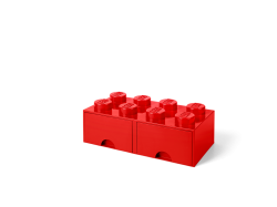 LEGO Brick Drawer 8 - Red