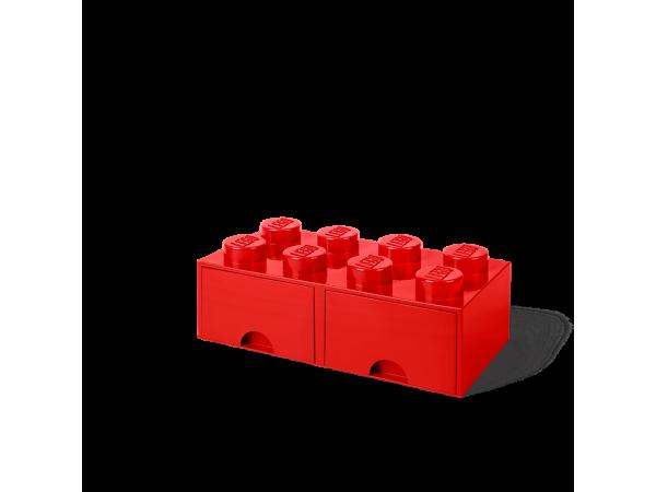 LEGO Brick Drawer 8 - Red
