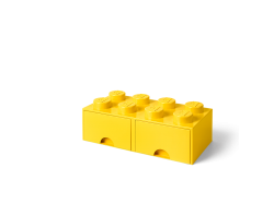 LEGO Brick Drawer 8 - Yellow