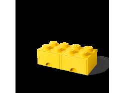 LEGO Brick Drawer 8 - Yellow