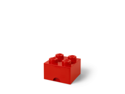 LEGO Brick Drawer 4 - Red