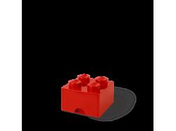 LEGO Brick Drawer 4 - Red