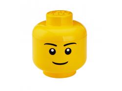 LEGO Storage Head (Small) - Boy