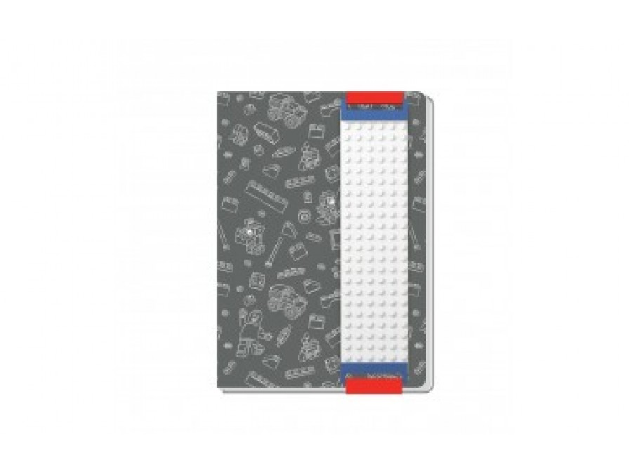 Journal with Building Band (Grey)