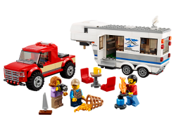 Pickup & Caravan (Damaged Box)