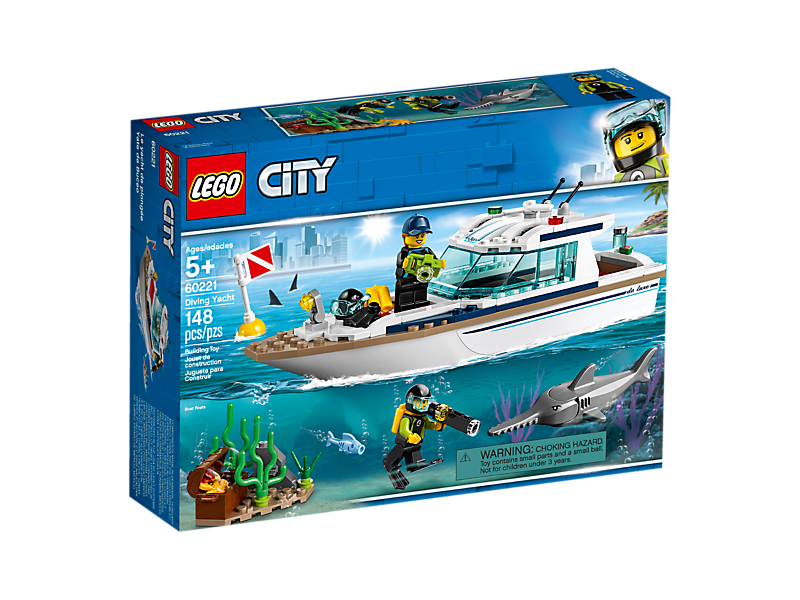 LEGO CITY Diving Yacht NEW 2019
