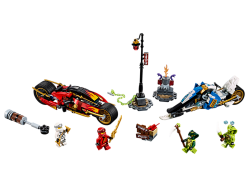 Kai's Blade Cycle & Zane's Snowmobile