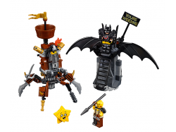Battle-Ready Batman™ and MetalBeard