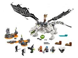 Skull Sorcerer's Dragon