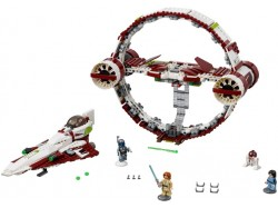 Jedi Starfighter with Hyperdrive