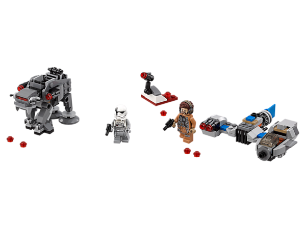Ski Speeder™ vs. First Order Walker™ Microfighters