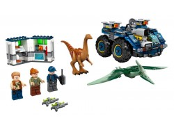 Gallimimus and Pteranodon Breakout