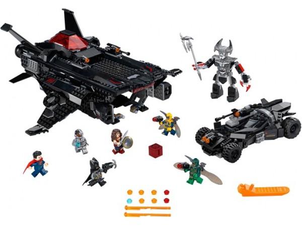 Flying Fox: Batmobile Airlift Attack