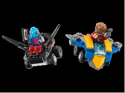 Mighty Micros: Star-Lord vs. Nebula