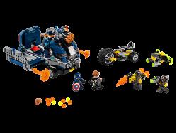 Avengers Truck Take-down