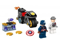 Captain America and Hydra Face-Off