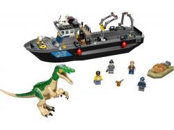 Baryonyx Dinosaur Boat Escape