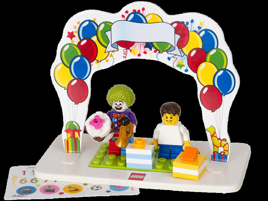 LEGO Minifigure Birthday Set