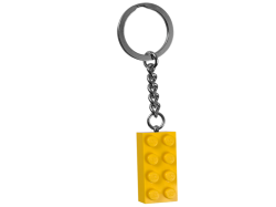Yellow Brick Key Chain
