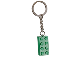 Green Brick Key Chain